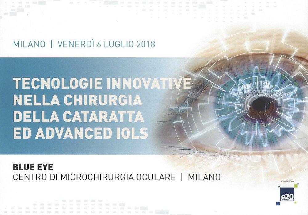 Tecnologie Innovative Nella Chirurgia Della Cataratta Ed Advanced IOLs