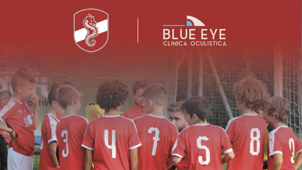 blue eye è partner del cimiano calcio