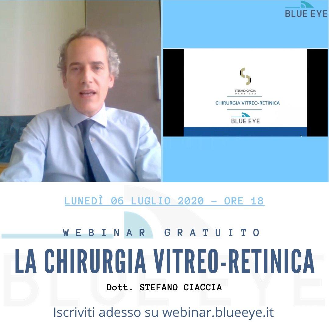 La Chirurgia Vitreo-Retinica webinar