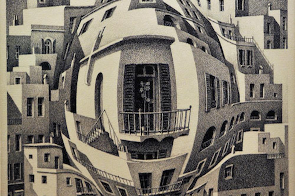 mostra Escher Genova